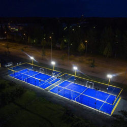 Illuminazione per impianti sportivi